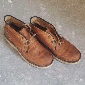 Frye Leather Chukka